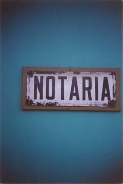 Con ustedes... ¡¡¡los notarios!!!